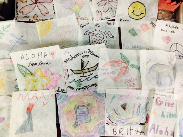 Aloha flags