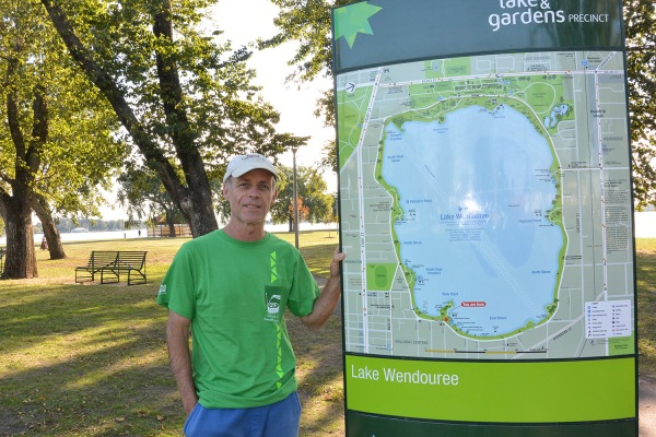 Site of the 1956 Melbourne Olympic Games Lake Wendouree Ballarat, AUSTRALIA