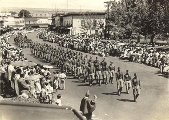 Kamehameha Parade, Hilo, 1934
