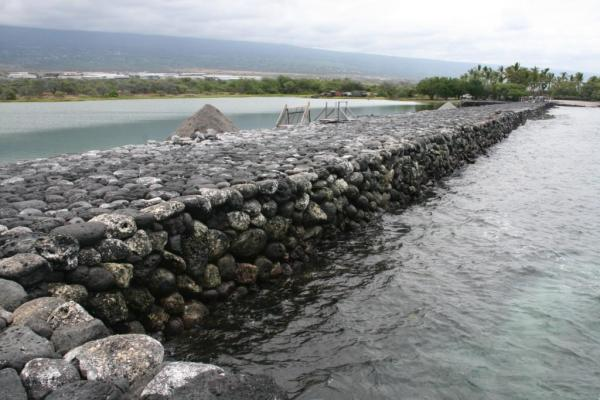 Kaloko Fishpond Wall