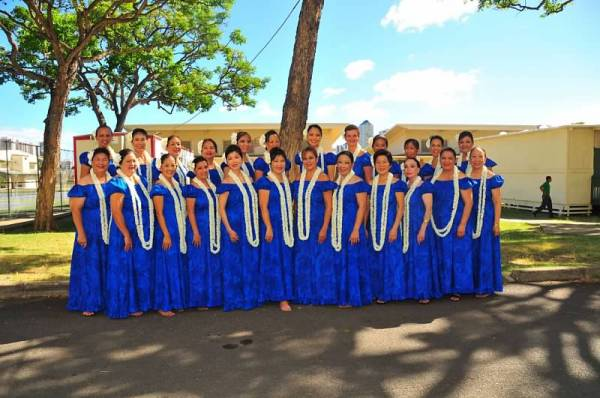 Honolulu-based Hālau Hula Kamamolikolehua
