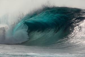 Menacing wave