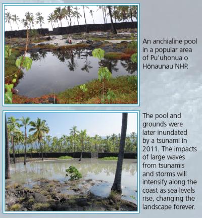 PUHO Tsunami Damage