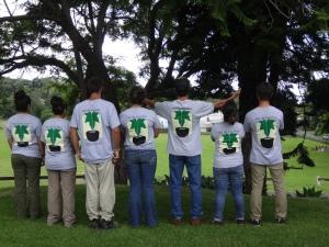 College intern group shot.