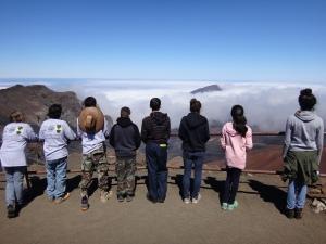 Interns at the summit