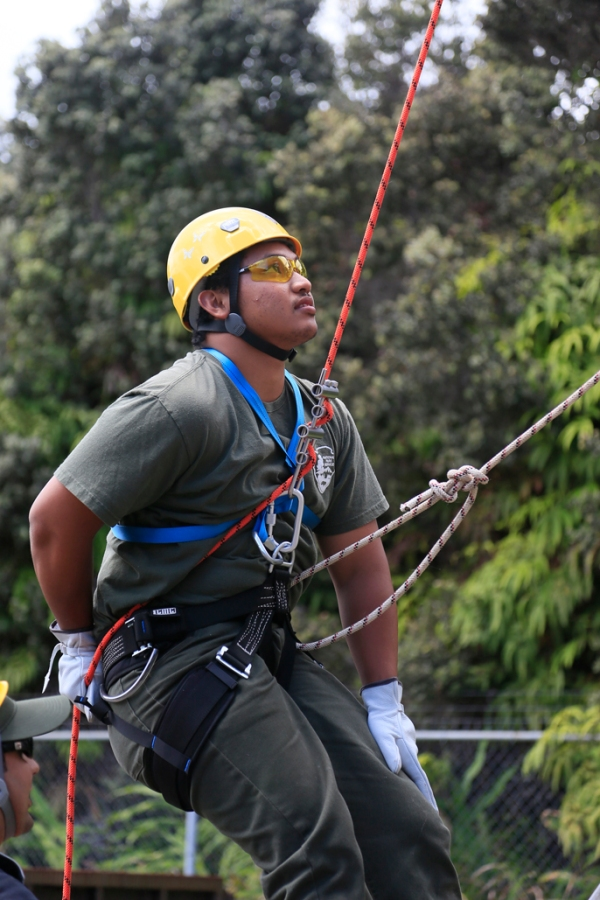 Youth Ranger training for search and rescue missions