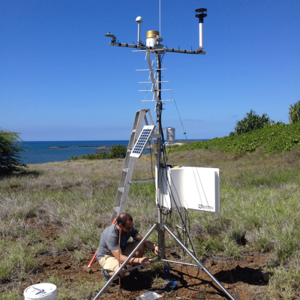 Climate station install