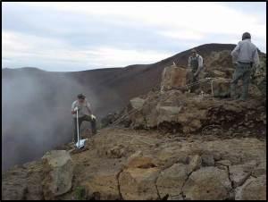 Pā Ka'oao trail rehab